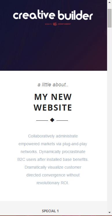 Example site 1